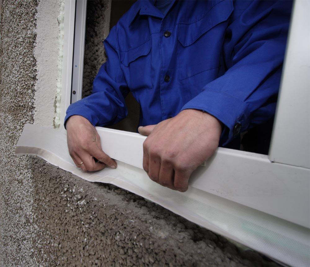 Установка нащельников на пластиковые окна своими руками
